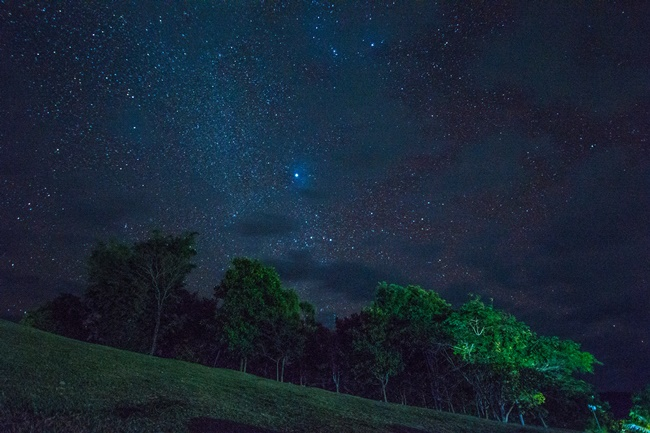 Things to do in Nan, Thailand: Milky way above Doi Samer Dao