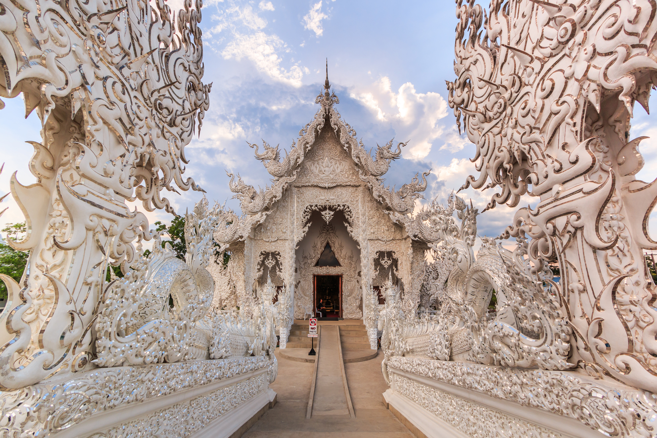 Hidden art museums and art galleries in Thailand: The gateway to heaven at Wat Rong Khun, Chiang Rai