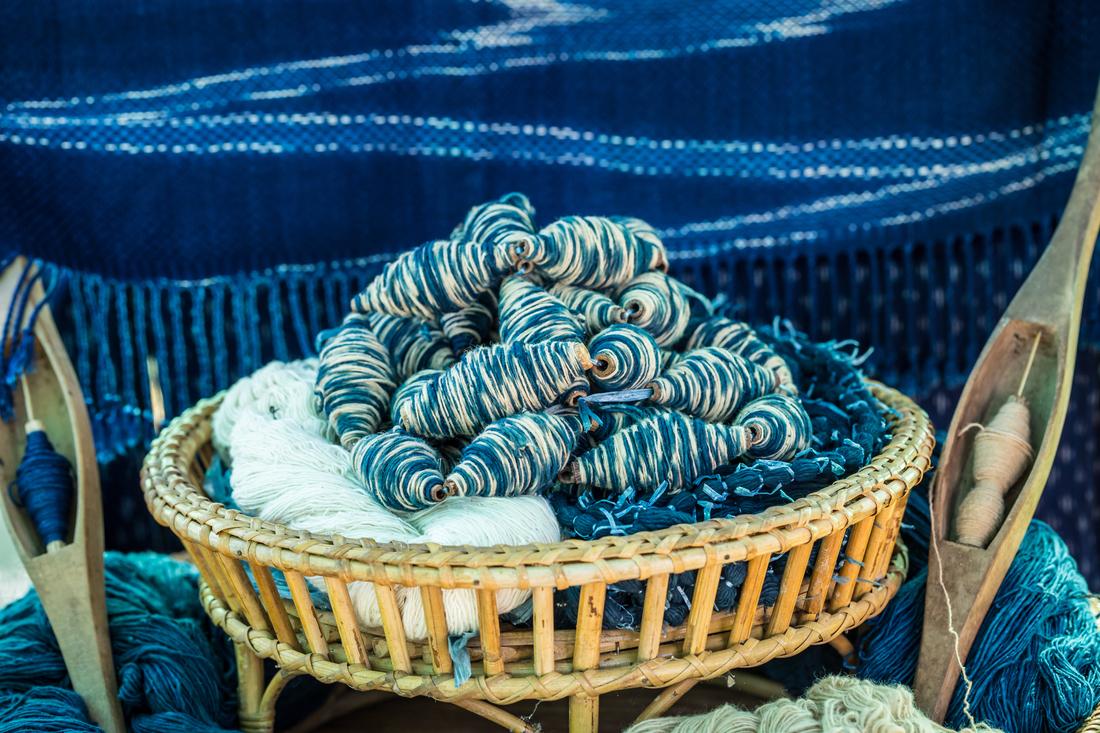 Thai textiles: Indigo-dyed fabrics from kram plants in Sakon Nakhon