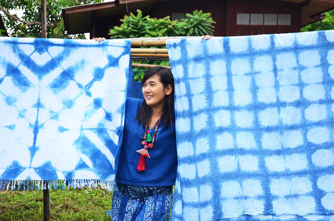 Thai textiles: Mo Hom at Ban Thung Hong in Phrae