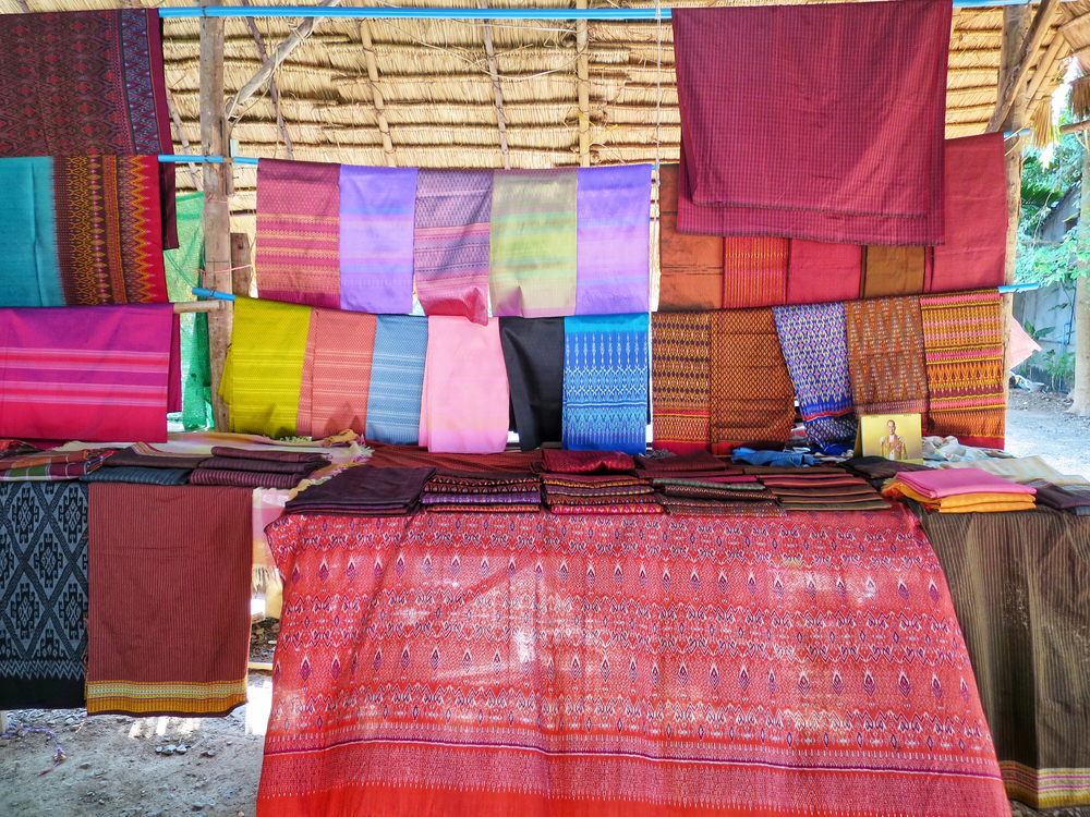 Thai textiles: The chosen silk for world leaders was produced at Ban Tha Sawang in Surin