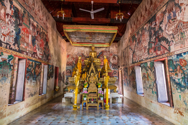Things to do in Ratchaburi, Thailand: Mon charms at Wat Kongkaram