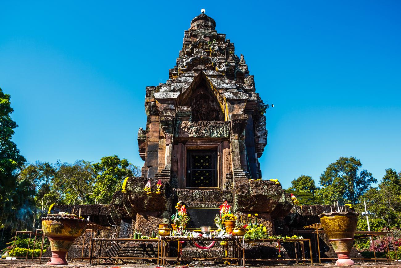 Things to do in Sakon Nakhon, Thailand: The ruins of Phra That Narai Cheng Weng