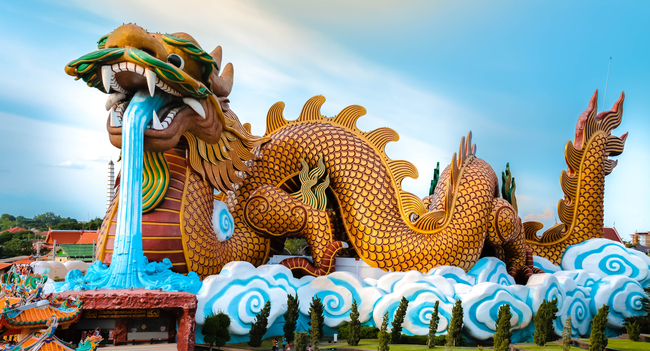 Things to do in Suphan Buri, Thailand: Dragon Descendants Museum at Heavenly Dragon Park
