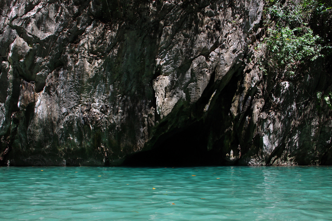 Things to do in Trang, Thailand: The entrance of Morakot Cave near Koh Mook