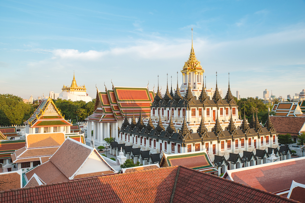 Metallic Castle and Golden Mount, Bangkok