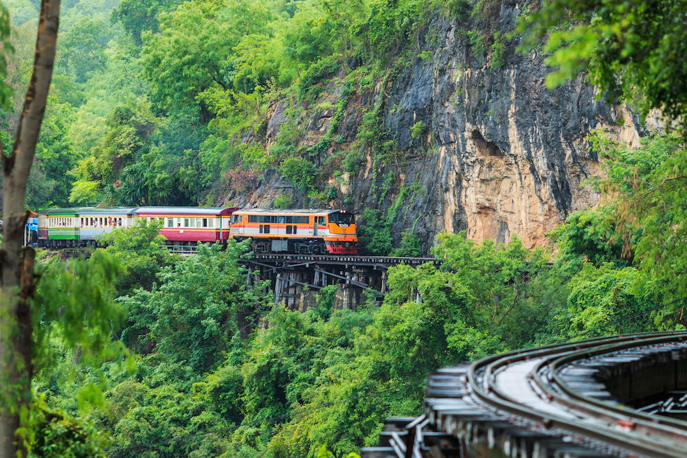 The Death Railway, Kanchanaburi