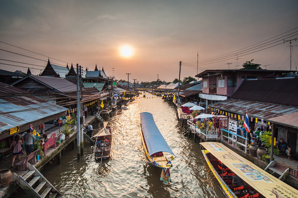 Amphawa Floating Market, Samut Songkhram