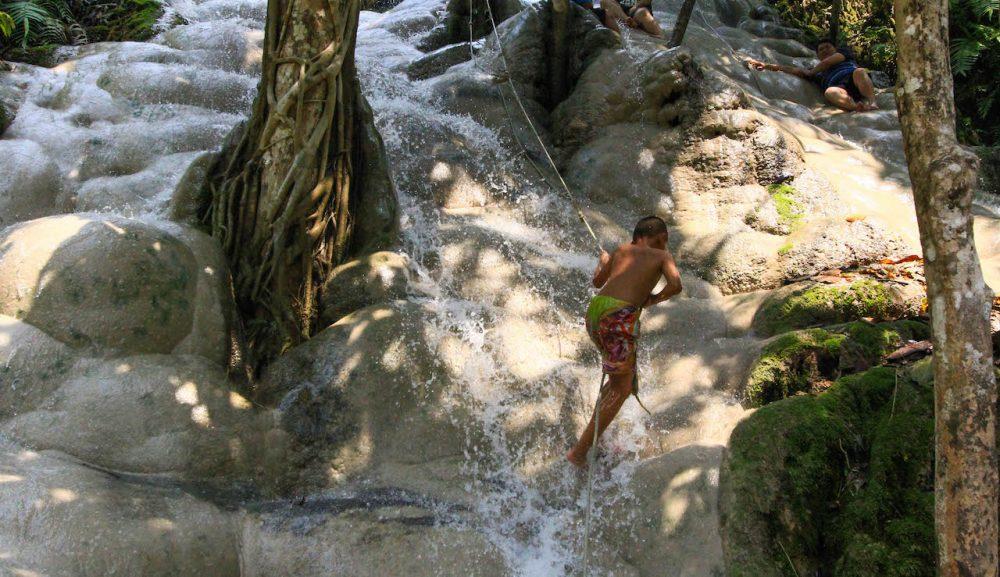 Sticky Waterfall, Chiang Mai