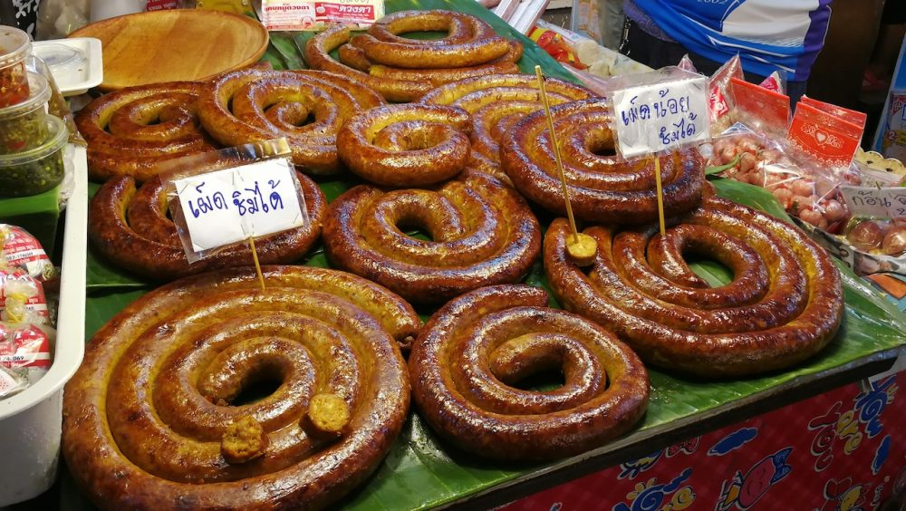 Northern-style sausages, Chiang Mai