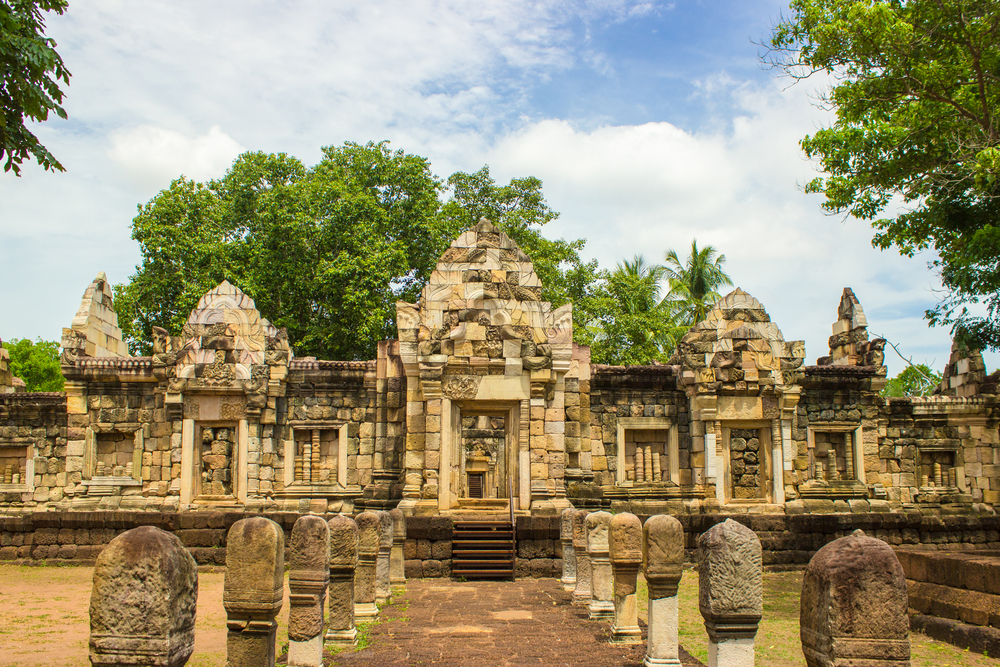 Things to do in Sa Kaeo, Thailand: The stone sanctuary, Prasat Sdok Kok Thom