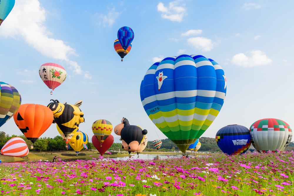 Things to do in Chiang Rai, Thailand: Singha Park International Balloon Fiesta