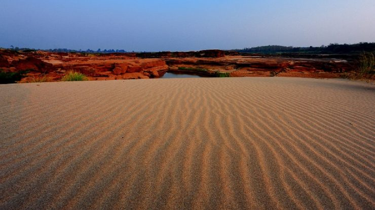 Things to Do in Ubon Ratchathani, Thailand: Chase sunset at Had Hong Sand Dunes