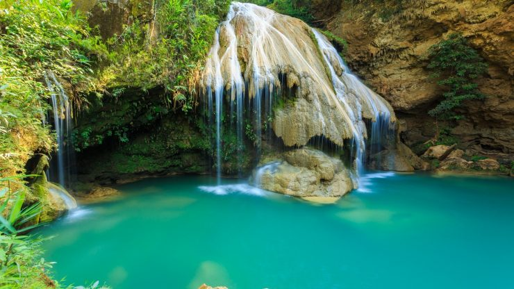 Things to do in Lamphun, Thailand: Koh Luang Waterfall